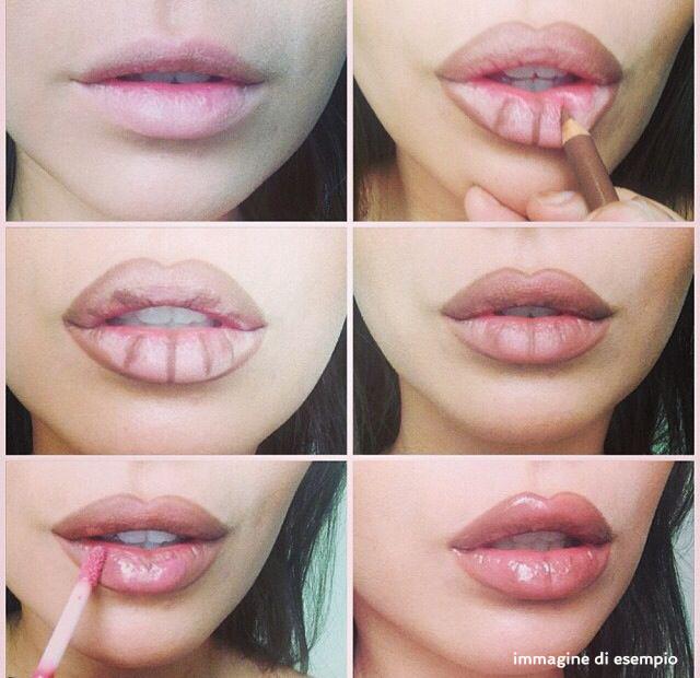 Super Labbra effetto volume con il makeup VT31