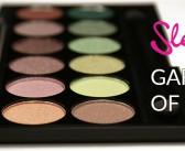 Sleek MakeUP i-Divine palette Garden of Eden
