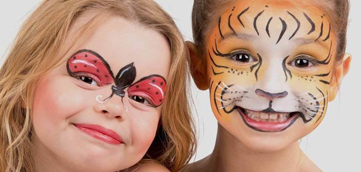 Truccabimbi: il make up divertente per un carnevale in allegria