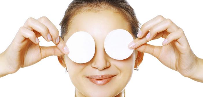 Pulizia viso e occhi: l'importanza di struccarsi la sera